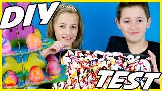 SHAVING CREAM EASTER EGG! PINTEREST DIY RECIPE TEST!