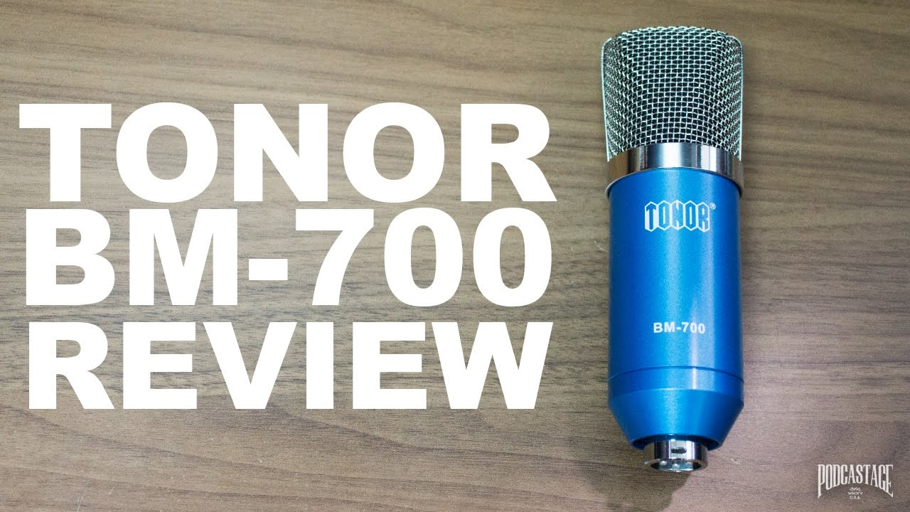 TONOR BM-700 XLR Condenser Microphone Review / Test - YouTube