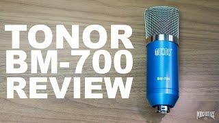 TONOR BM-700 XLR Condenser Microphone Review / Test