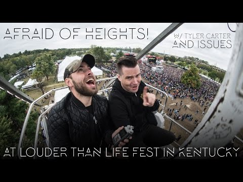 Afraid Of Heights at Louder Than Life Festival in Kentucky! - The Grizzlee Grind