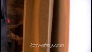 как клеить виниловые обои на стену  мастер класс(в этом видео я показываю как клеить виниловые обои на криволинейные стены., 2014-01-15T07:18:17.000Z)