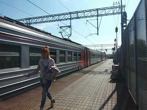 ЭД4МК-0026 и ЭД4М-0267 На станции Маленковская