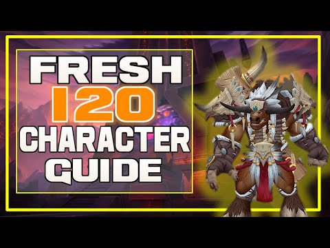 Fresh 120 Player Guide! New/Alts - What To Do When You Get To 120   WoW Patch 8.3 Visions Of N'Zoth