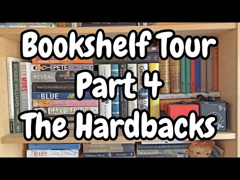 Bookshelf Tour Part 4 | My Hardbacks