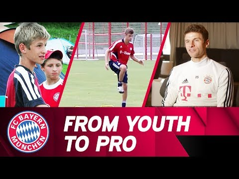 From Youth to Pro - Thomas Müller's Remarkable Career at FC Bayern!
