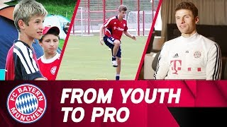 From Youth to Pro - Thomas Müller
