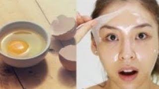 Egg Facial at home Step by Step beauty tips in Tamil