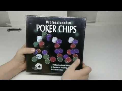 Недорогой набор для покера. Обзор.