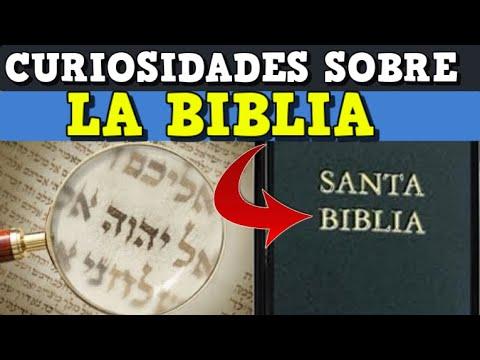 Curiosidades de la biblia que no sabias