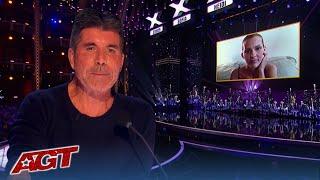Simon Cowell Breaks Down in TEARS as 'Nightbirde' Returns to America's Got Talent Live Result Show!