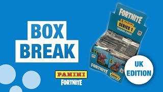 LEGENDARY FOIL!! | FORTNITE SERIES 1 TRADING CARDS! (Box Break)