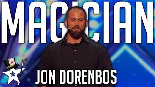 Magician Jon Dorenbos | All Performances | America's Got Talent 2016