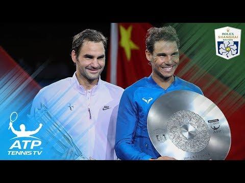 Roger Federer beats Rafa Nadal to win second Shanghai title! | Shanghai 2017 Final Highlights