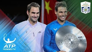 Roger Federer beats Rafa Nadal to win second Shanghai title!   Shanghai 2017 Final Highlights