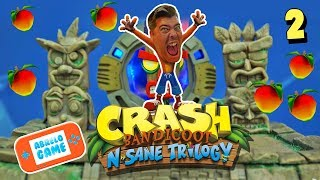 Crash Bandicoot N Sane Trilogy en Español la Trilogía de Crash Bandicoot en Abrelo Game