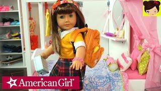 Rutina de Mañana Para La Escuela  con Muñeca American Girl - Historias Juguetes de Titi