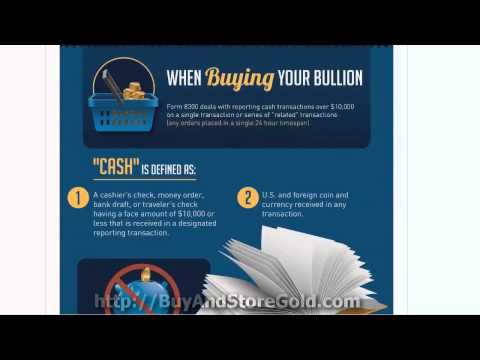 Buying, Selling Gold And Silver Bullion - What Is Reportable