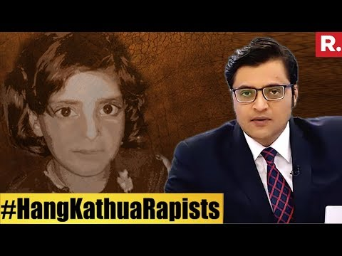 Republic TV Exposes BJP And Congress #KathuCase   The Debate With Arnab Goswami