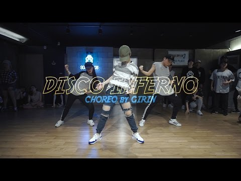 Girin Jang choreography  50 Cent  Disco Inferno