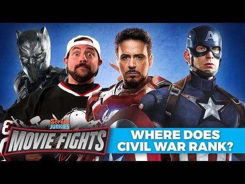 Where Does Civil War Rank in the MCU? (w/ Kevin Smith!) - MOVIE FIGHTS!!