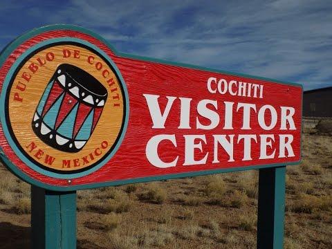COCHITI VISITOR CENTER, NEAR SANTA FE, NM, & Tent Rock  Monument