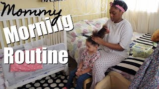MOMMY MORNING ROUTINE | SINGLE MOM | 2017