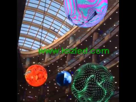 3D LED Globe Display