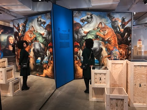 Jeff Koons x Louis Vuitton Pop Up Gallery Review - New York City
