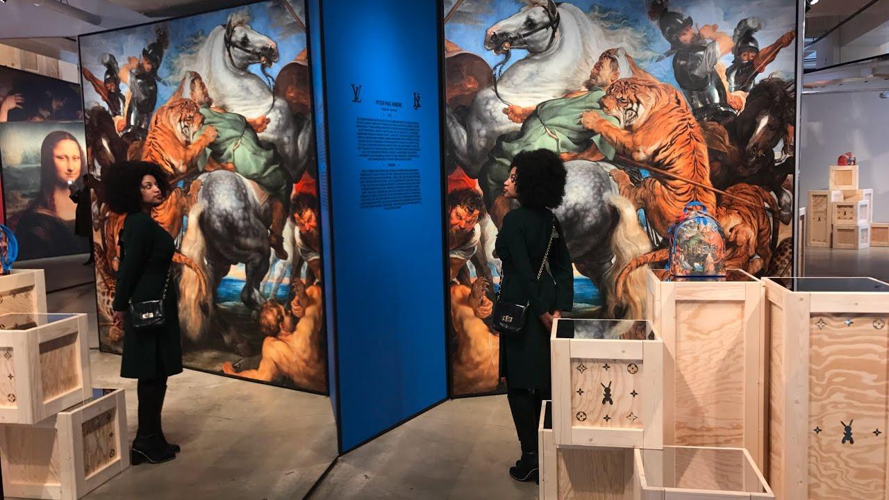 afdffe8de02c Jeff Koons x Louis Vuitton Pop Up Gallery Review - New York City ...