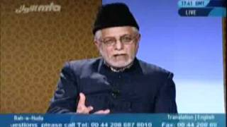 Difference between Ahmadi and non-Ahmadi - Caller wants to know.-MTA