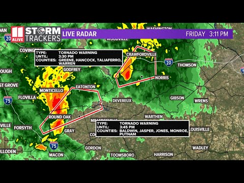 Tornado warning canceled in Atlanta, but watch in effect for parts of ...