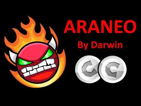 Araneo 100% by Darwin (hard demon) [geometry dash 2.1 / 2.11]