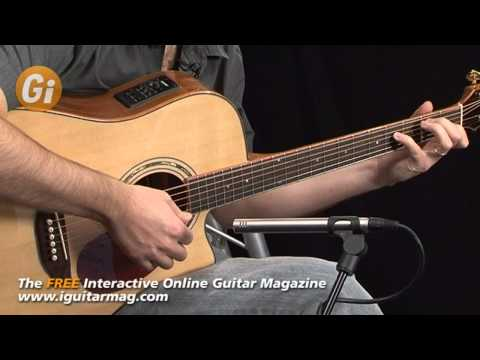 Freshman Apollo 3DC Electro-Acoustic Cutaway Review / Demo - Guitar Interactive Magazine