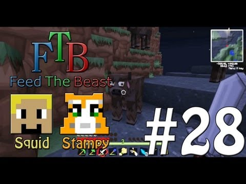 Feed The Beast #28 - The Missing Cows!! - W/Stampylongnose
