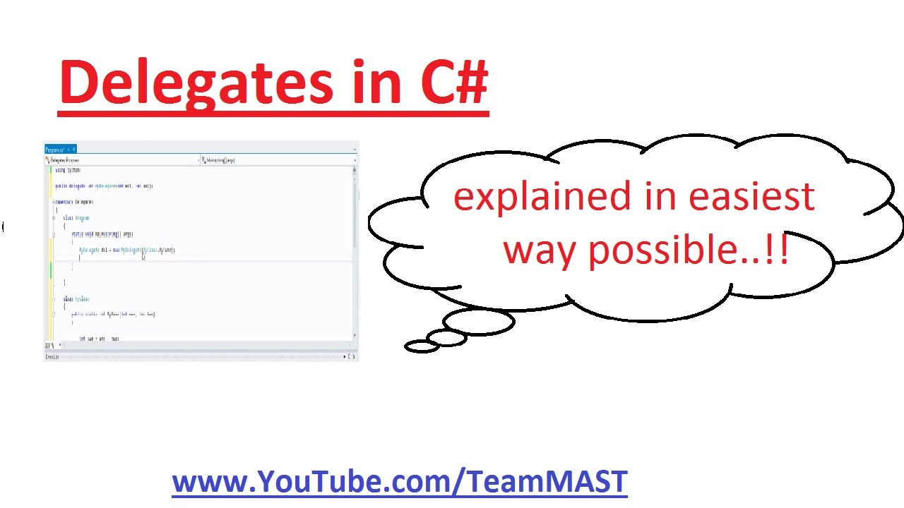 C# delegates 101 a practical example codeproject.