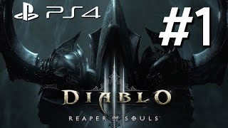 Diablo III: Reaper Of Souls - Ultimate Evil Edition Gameplay Walkthrough Part 1 PS4 - Diablo Virgin