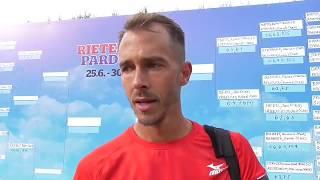 Lukáš Rosol po vítězství ve čtvrtfinále Rieter Open Pardubice 2018