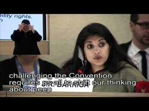 WorldLeadersTV: HUMAN RIGHTS for PEOPLE with DISABILITIES: UN RIGHTS PANEL (OHCHR)