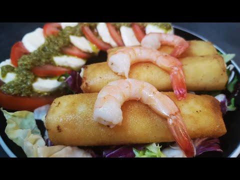 recette-brik-À-la-crevette-bÉchamel🍤-simple-rapide-idÉe-ramadan-🌙