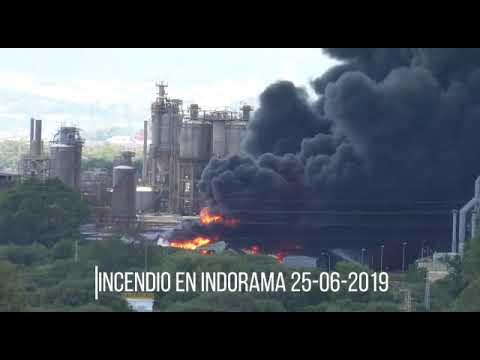 Incendio Indorama
