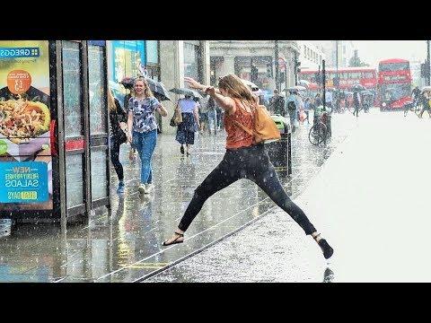 Surprise Heavy Rain London 22 May 2014 Lightning Thunder Storm