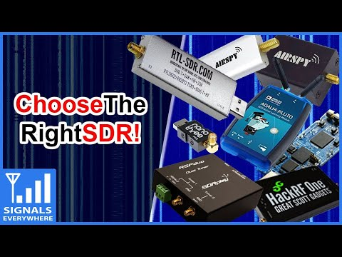 Software Defined Radio Introduction | What SDR To Buy? | Choose The Right One For You