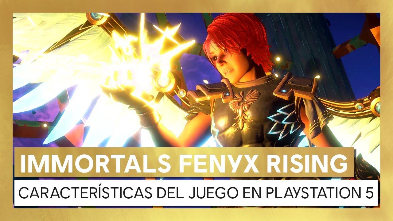 Immortals Fenyx Rising - Características del juego en PlayStation 5