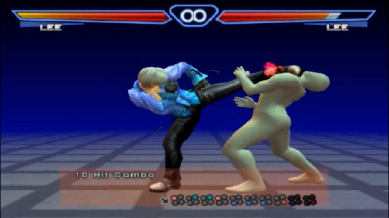 Tekken 4 All 10 Hit Combos Youtube