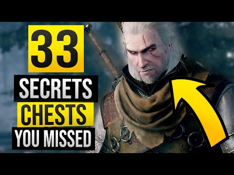 Witcher 3: All 33 Hidden Treasure Chest Locations You May Have Missed in White Orchard!
