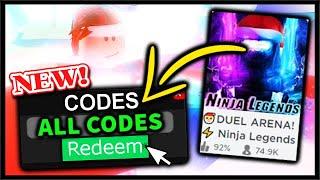 *ALL* NEW WORKING NINJA LEGENDS CODES - FREE GEMS & Xmas Update Part 1| Roblox Ninja LEGENDS