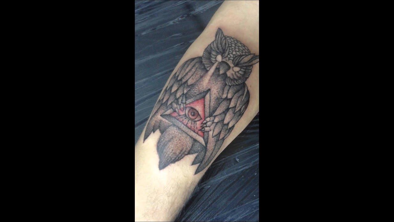 Búho Illuminati Tattoo El Pinche Lolo Youtube