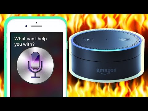 If Siri And Alexa Had A Rap Battle..