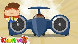 Médico McWheelie y el super-coche rápido. Dibujos animados para los niños.