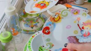 Какую посуду купить ребенку?  Сравнительный обзор!!!!